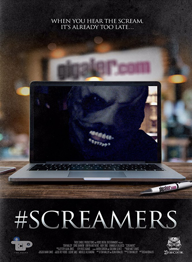 screamers poster new - #Screamers (Movie Review)