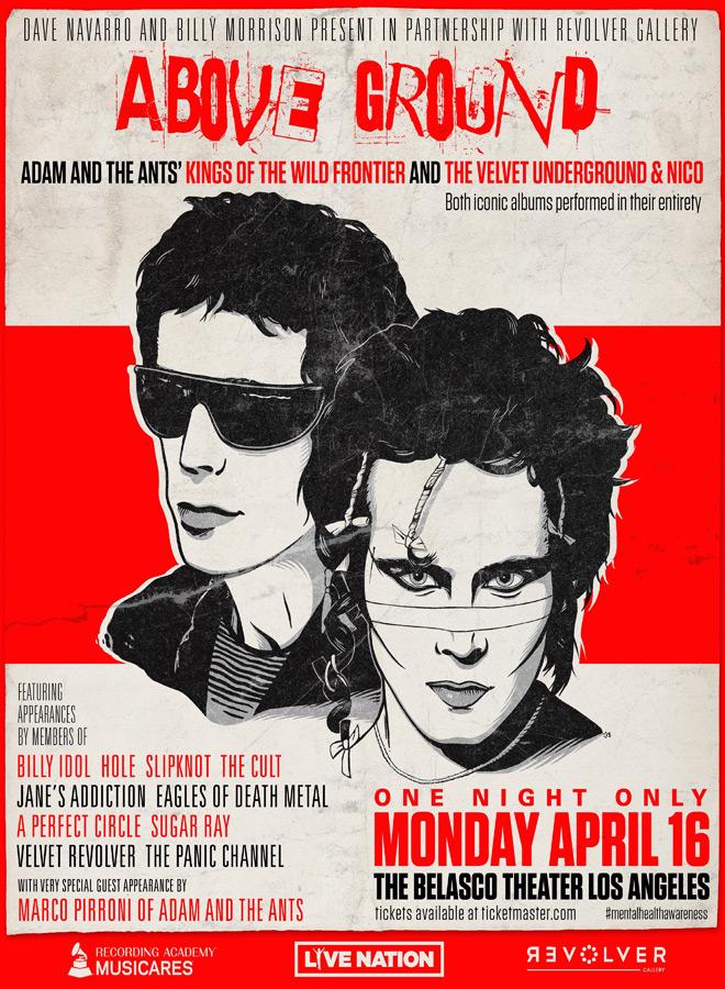Admat as of 3.26.18 - Interview - Dave Navarro & Billy Morrison Raising Awareness Through Music