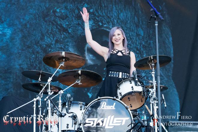 Skillet 5 7 17 20 of 20 - Interview - Jen Ledger of Skillet