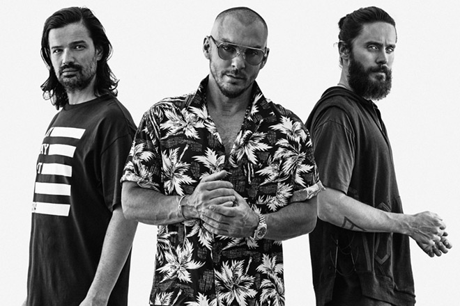Thirty Seconds To Mars America promo - Thirty Seconds to Mars - America (Album Review)