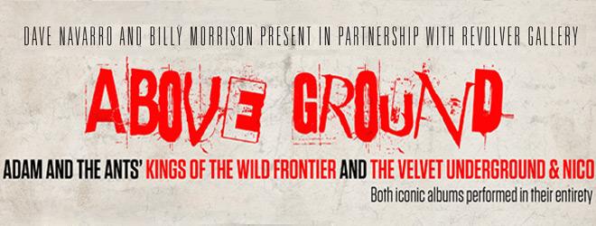 above slide - Interview - Dave Navarro & Billy Morrison Raising Awareness Through Music