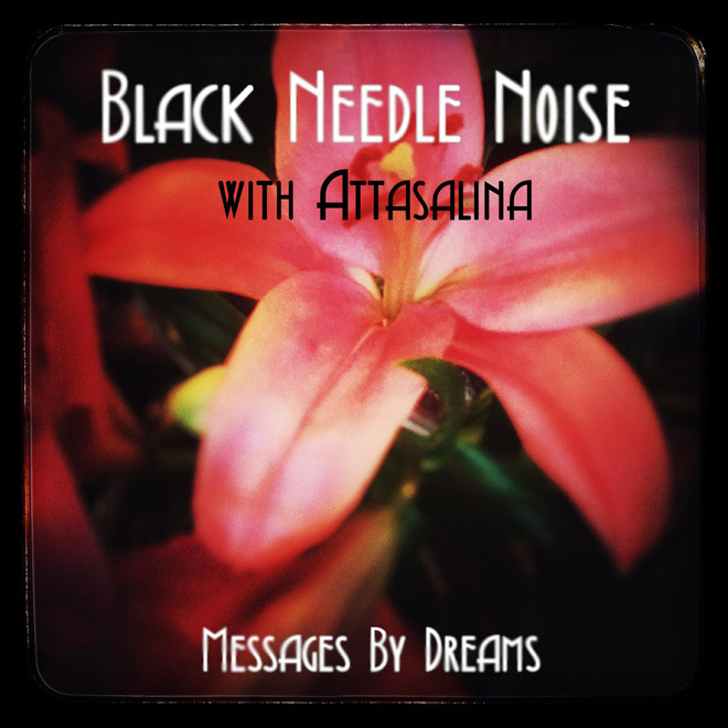 "black needle - Black Needle Noise with Attasalina Premiere Video For ""Messages By Dreams"""