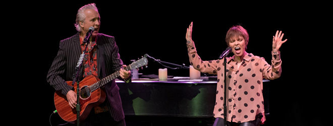 pat neil 2018 slide - Pat Benatar & Neil Giraldo Shine Bright in Return to Long Island 4-11-18