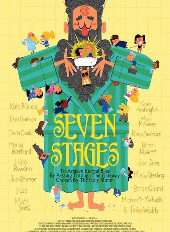 seven poster - Seven Stages to Achieve Eternal Bliss by Passing Through the Gateway Chosen by the Holy Storsh (Movie Review)