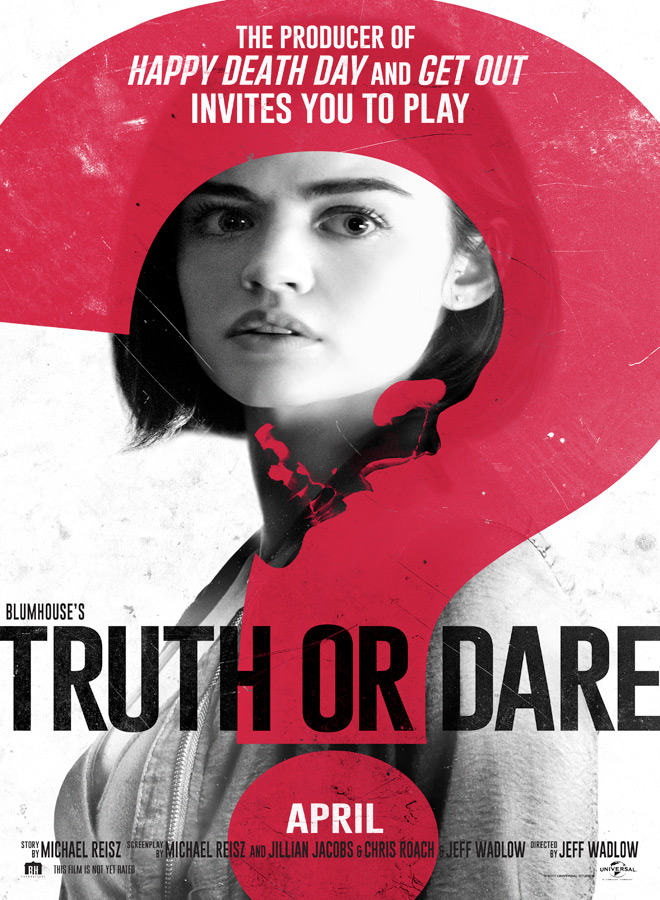 truth or dare poster - Truth or Dare (Movie Review)