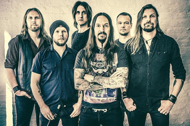 Amorphis2018b - Interview - Olli-Pekka Laine of Amorphis