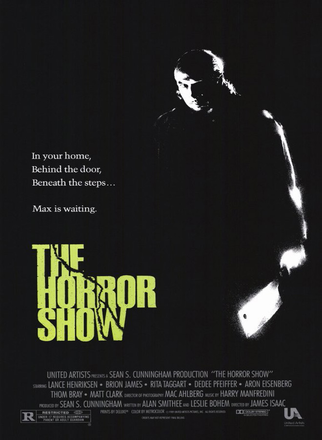 house III poster - This Week in Horror Movie History - The Horror Show (1989)