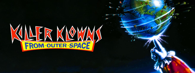 killer klowns slide - Killer Klowns from Outer Space - 30 Years Intergalactic Horror