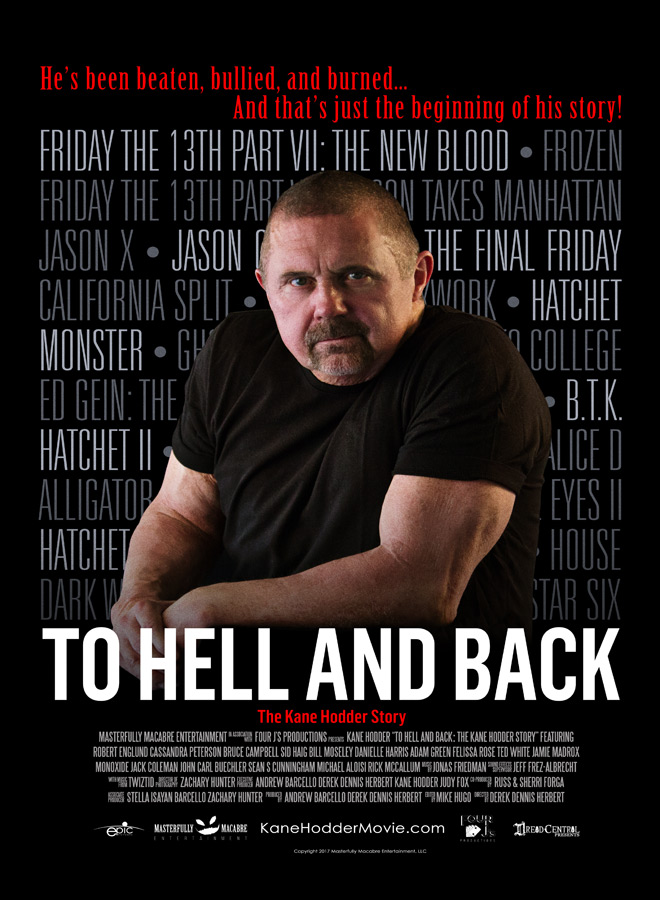 HellBack Mini 11.5x17 - To Hell and Back: The Kane Hodder Story (Documentary Review)