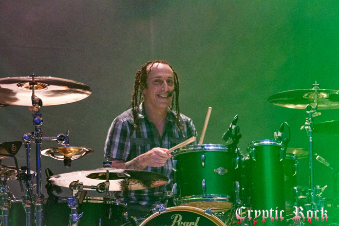 Sevendust The Space 6 24 17 CrypticRock 12 - Interview - Morgan Rose of Sevendust