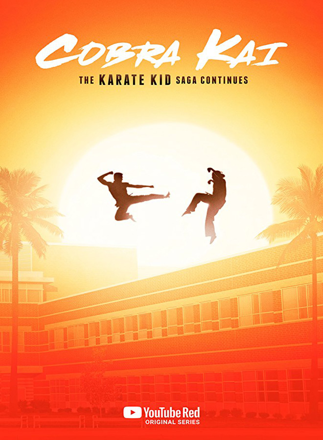 cobra kai poster - Cobra Kai (Season 1 Review)