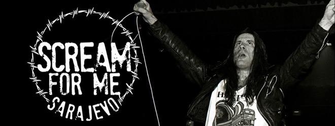 scream slide - Scream for Me Sarajevo (Documentary Review)