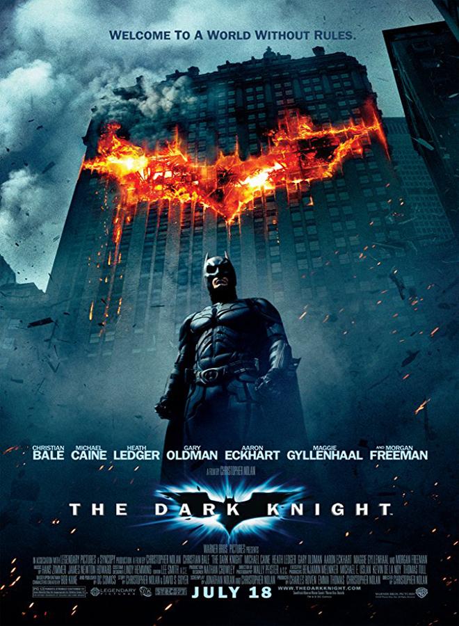 dark knight poster - The Dark Knight - 10 Years of Hype