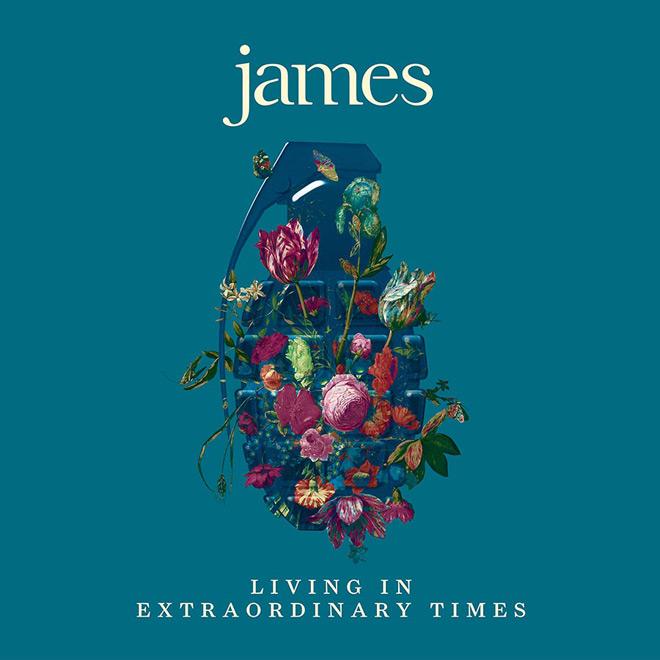 James album cover - James - Living in Extraordinary Times (Album Review)