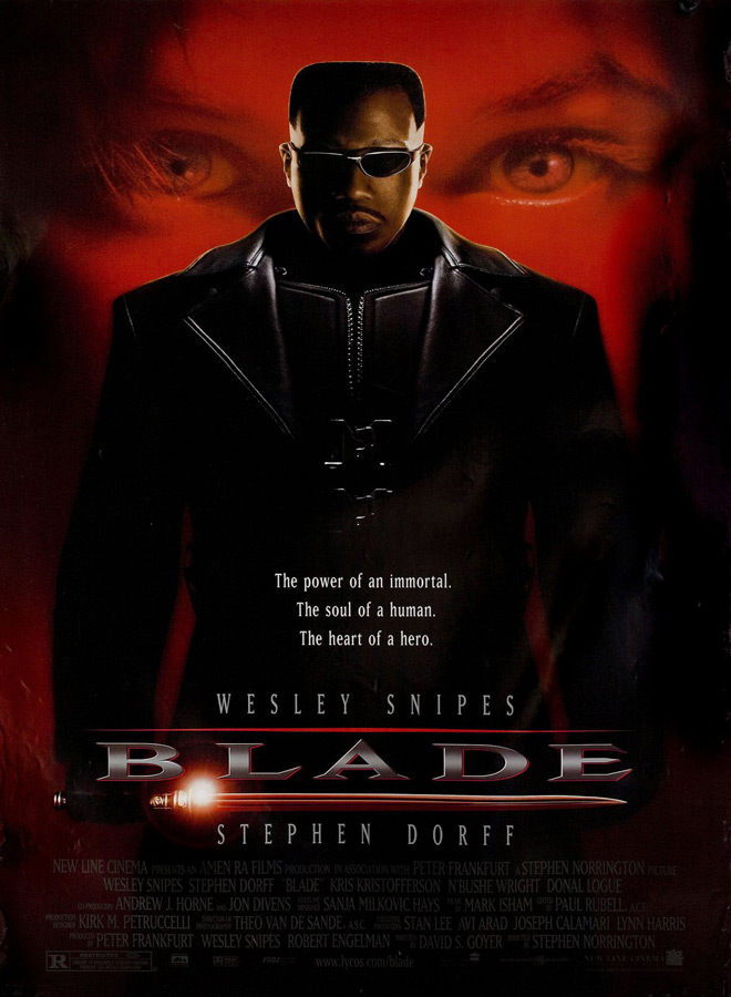 blade poster - Blade - Celebrating 20 Years of Night