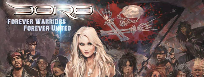 doro 2018 slide - Doro - Forever Warriors & Forever United (Album Review)