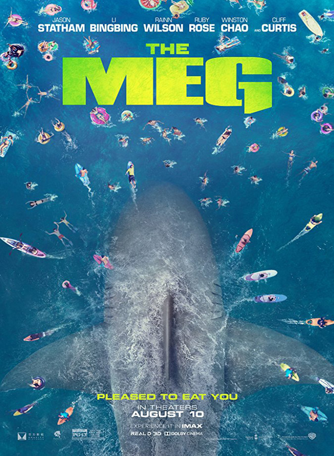 the meg poster - The Meg (Movie Review)