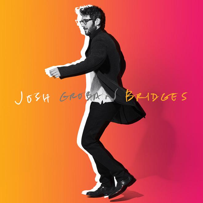 josh groban album cover - Josh Groban - Bridges (Album Review)
