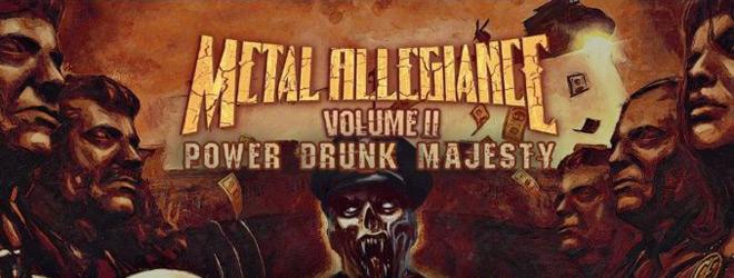 metal slide - Metal Allegiance - Volume II: Power Drunk Majesty (Album Review)