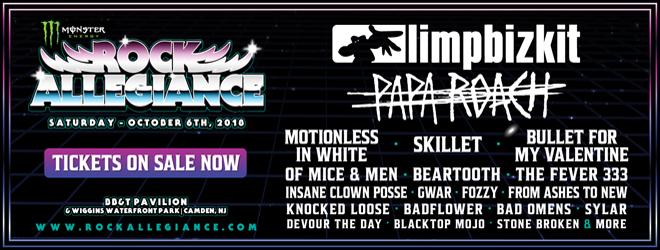rock allegiance 2018 - Monster Energy Rock Allegiance Set To Return October 6th