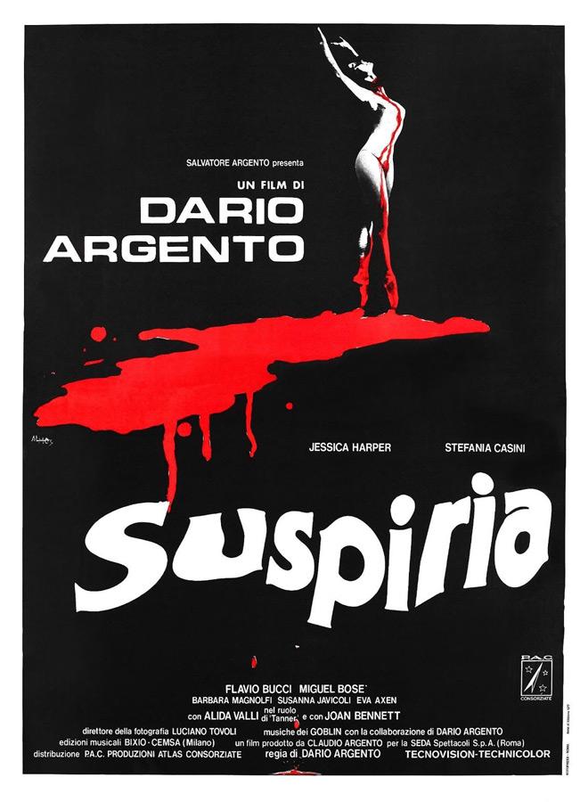 suspiria poster - Interview - Barbara Magnolfi