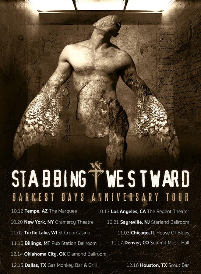 Stabbing Westward Dark Days Tour 2018 - Interview - Christopher Hall of Stabbing Westward