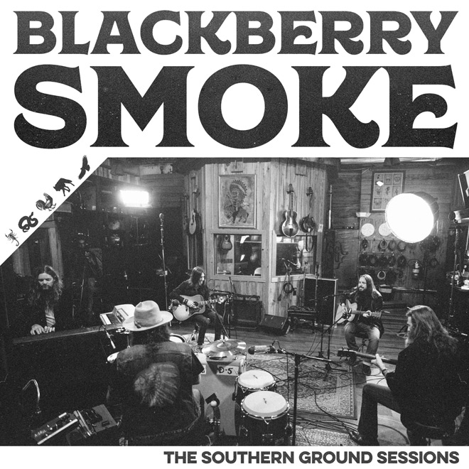 blackberry smoke cover - Blackberry Smoke - The Southern Ground Sessions (EP Review)