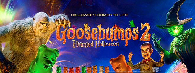 goosebumps banner - Goosebumps 2: Haunted Halloween (Movie Review)