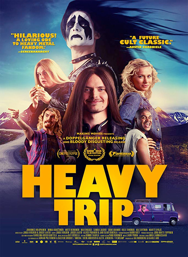 heavy trip poster - Heavy Trip (Movie Review)