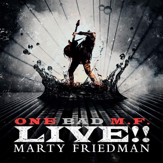 marty album - Marty Friedman - One Bad M.F. Live!! (Album Review)