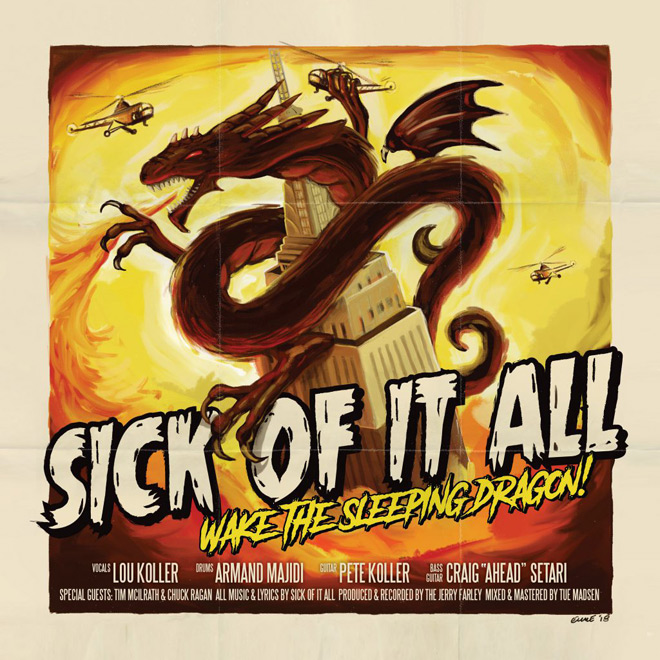 sick of it all - Sick of It All - Wake the Sleeping Dragon (Album Review)