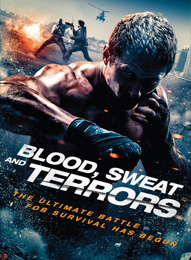 blood sweet dvd cover - Blood, Sweat and Terrors (Movie Review)