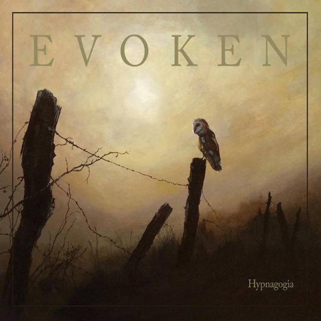 evoken album cover - Evoken - Hypnagogia (Album Review)