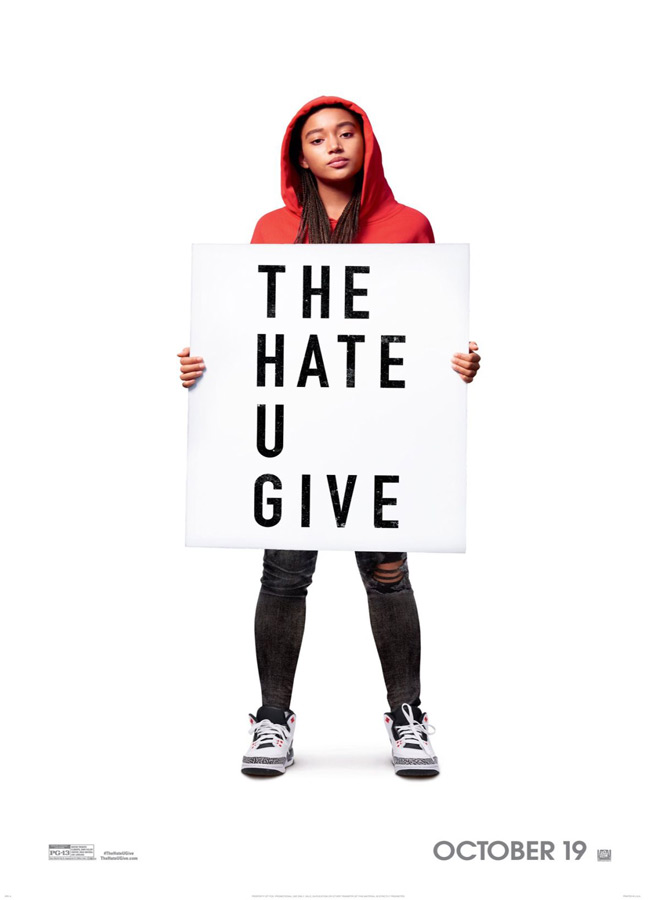 the hate u give poster - Interview - TJ Wright