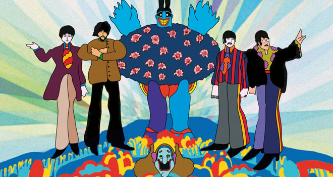 yellow 3 - The Beatles' Yellow Submarine - It Was 50 Years Ago Today