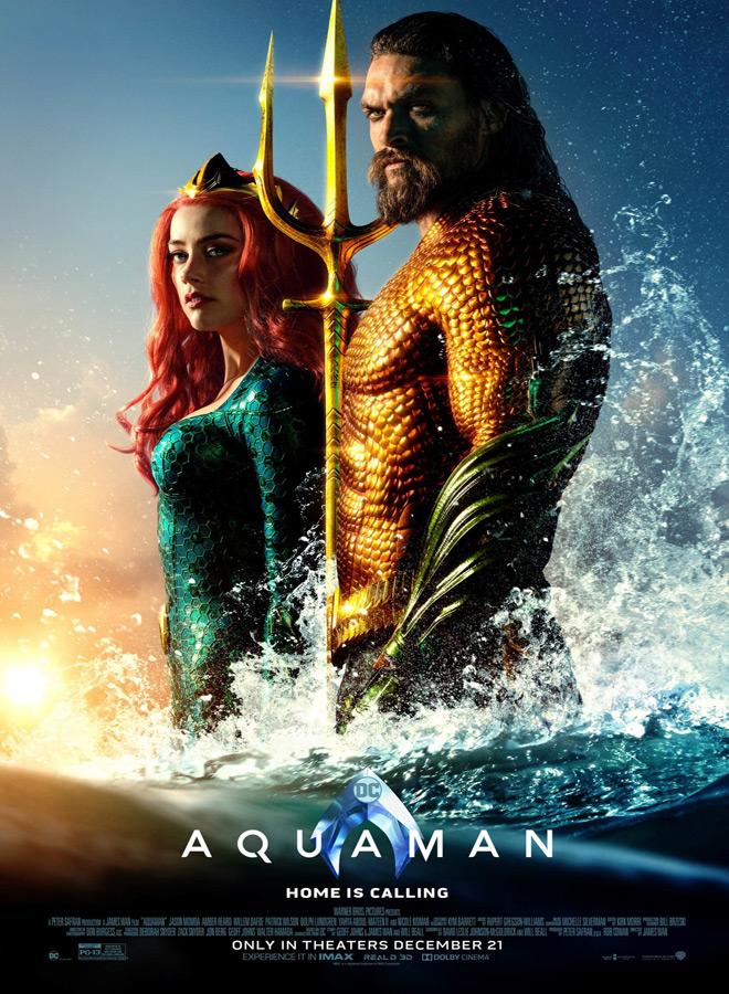 aquaman poster - Aquaman (Movie Review)