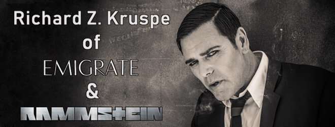 richard z alternative slide new - Interview - Richard Z. Kruspe of Emigrate & Rammstein