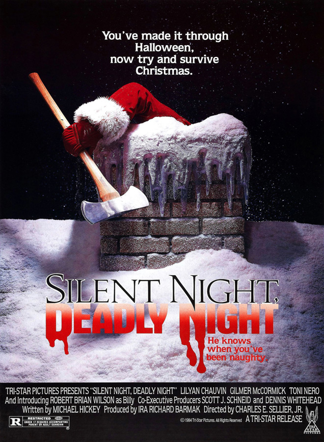 silent night deadly night poster - The Anatomy of a Remake: Silent Night, Deadly Night