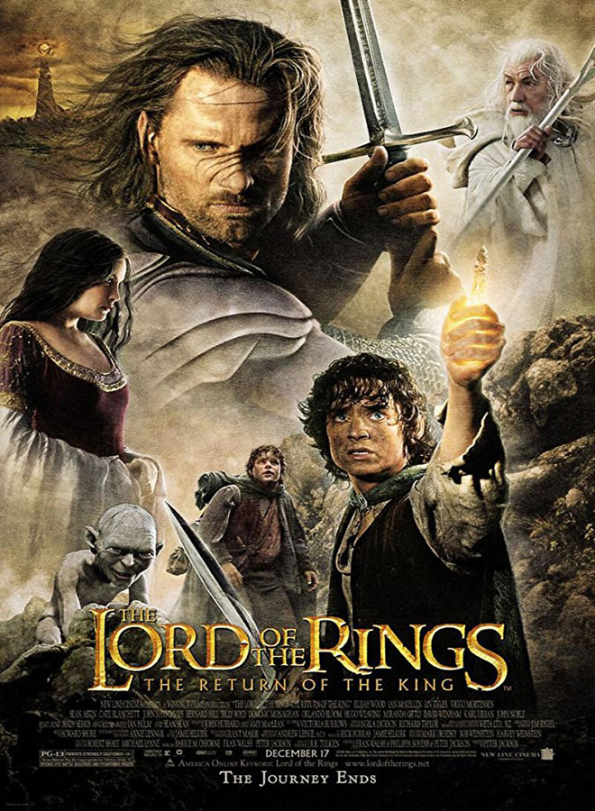 the return of the king poster - The Lord of the Rings: The Return of the King - 15 Years Later