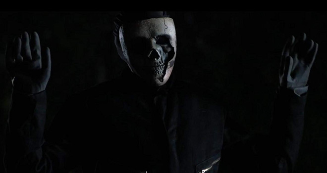 6th friend skull face - The 6th Friend (Movie Review)