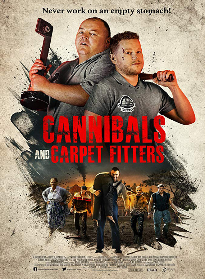 cannibals n carpet fitters poster - Cannibals and Carpet Fitters (Movie Review)