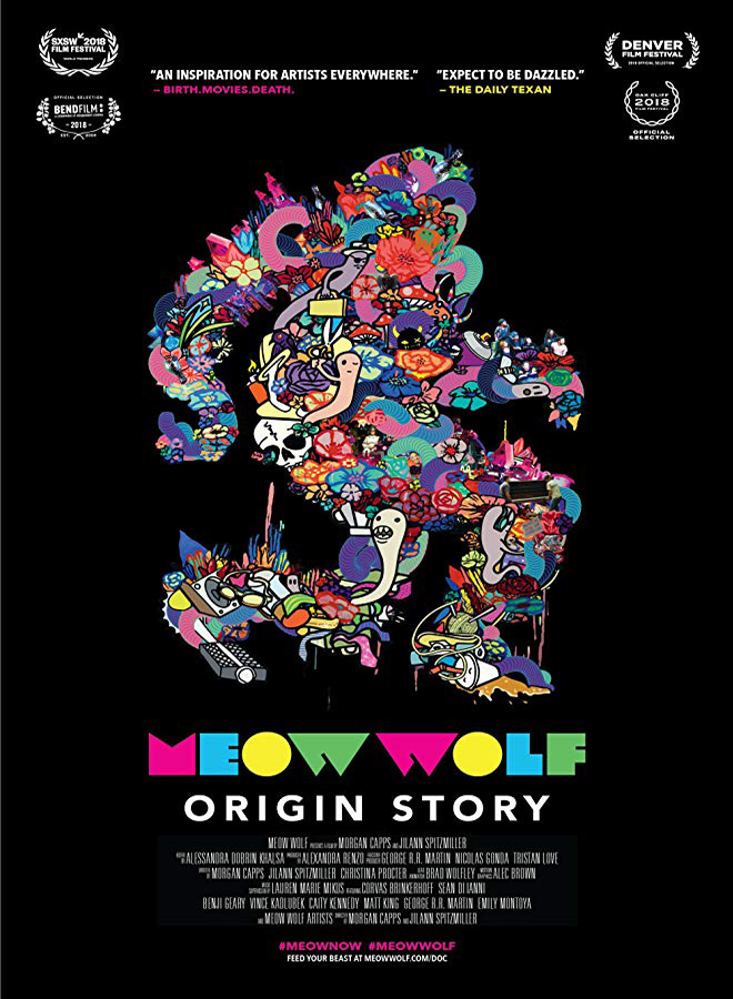meow wolf poster - Meow Wolf: Origin Story (Documentary Review)