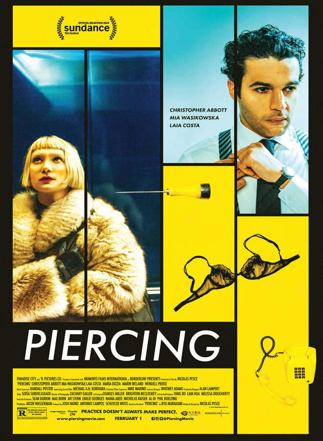piercing poster - Piercing (Movie Review)
