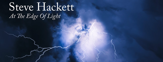 steve hackett at the edge of light slide - Steve Hackett - At the Edge of Light (Album Review)