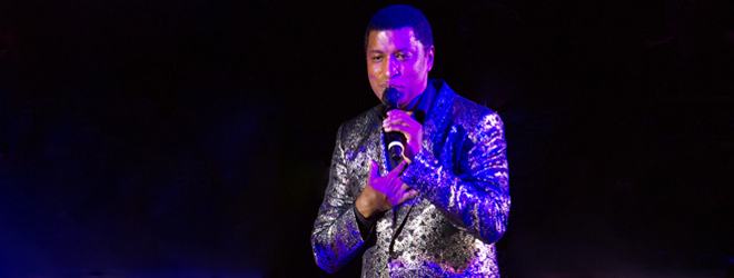 babyface live slide - Babyface Brings Love & Excitement to NYCB Theatre at Westbury, NY 2-7-19