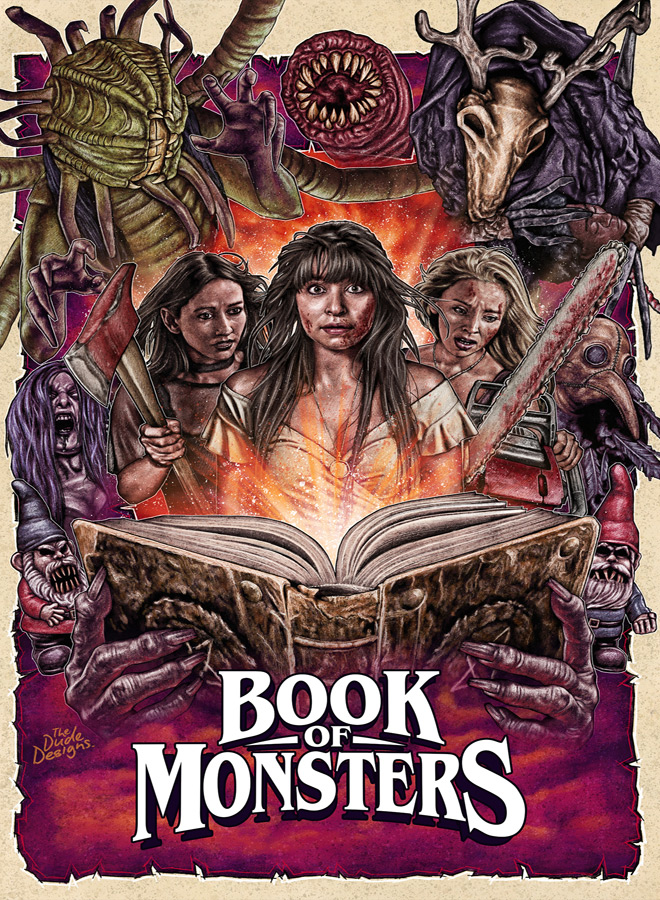 book of monsters poster - Book of Monsters (Movie Review)