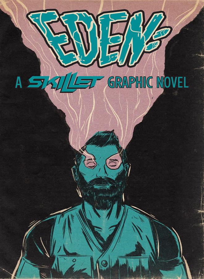 cover eden a skillet graphic novel - Skillet - Eden: A Skillet Graphic Novel (Graphic Novel Review)