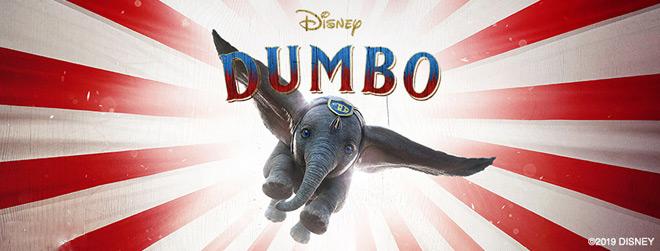 dumbo banner - Dumbo (Movie Review)