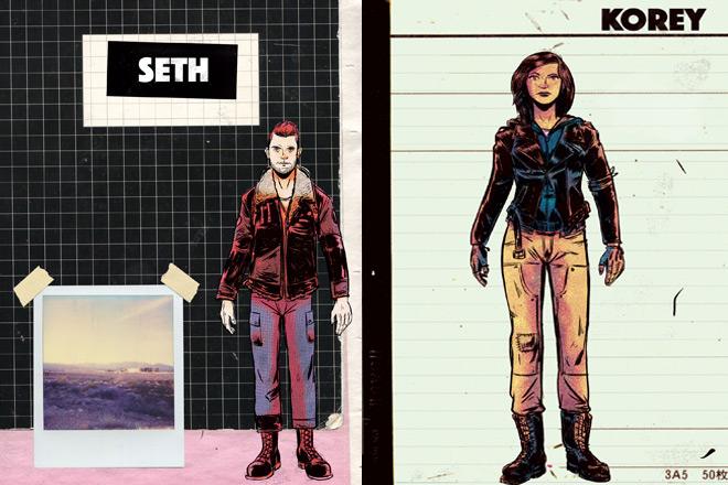 skillet comic 1 - Skillet - Eden: A Skillet Graphic Novel (Graphic Novel Review)