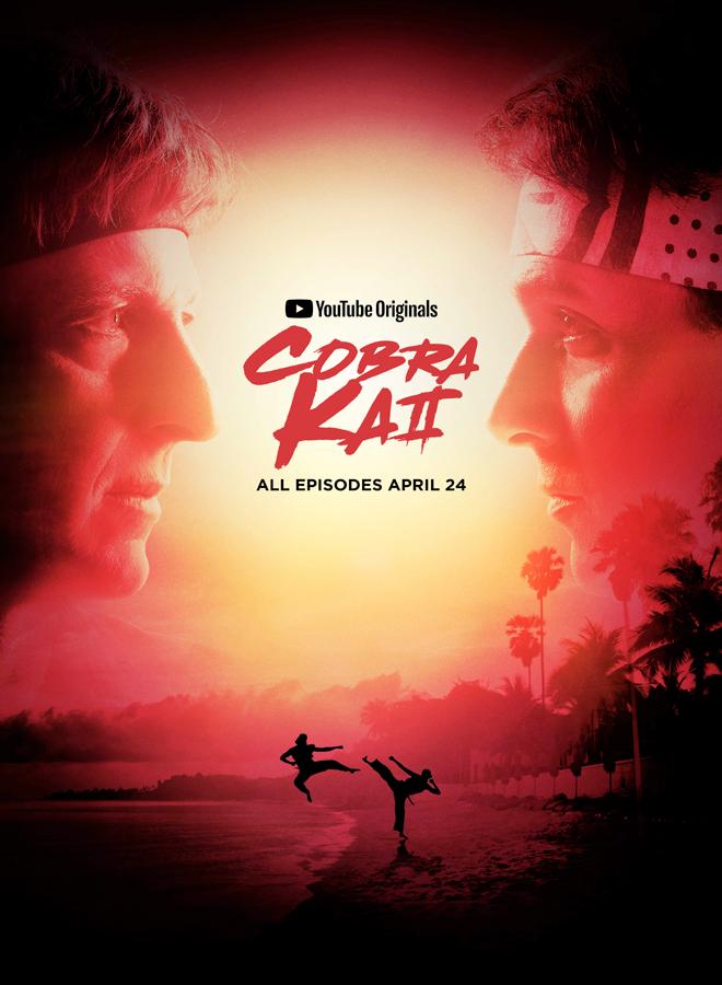 cobra kai poster - Cobra Kai - Returning For A Second Season With Fury